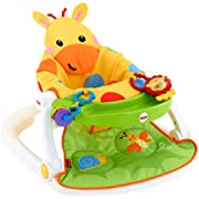 Fisher-Price Sit-Me-Up Floor Seat with Tray, Giraffe