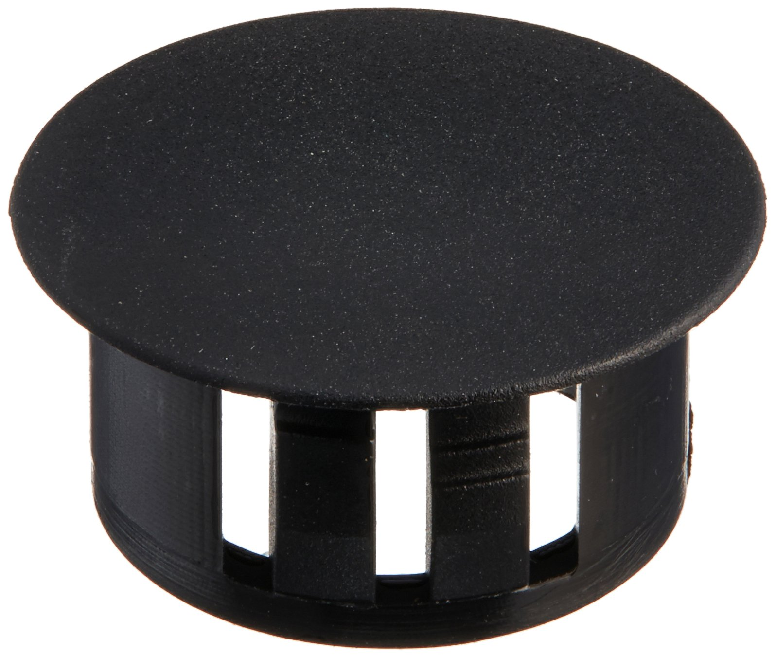 Morris 22388 Plastic Knockout Plug, 5/8-Inch, Black, 10-Pack