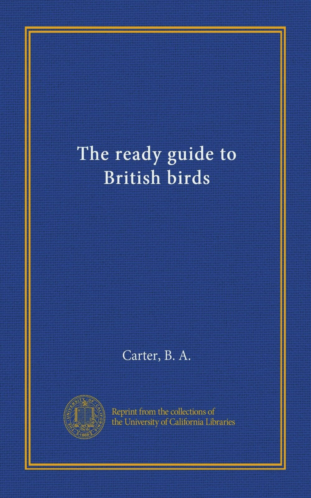 The ready guide to British birds ebook