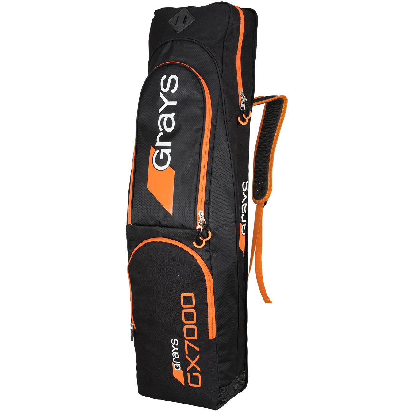 GRAYS GX 7000 HOCKEY KITBAG - BLACK/ORANGE by Grays 6601107