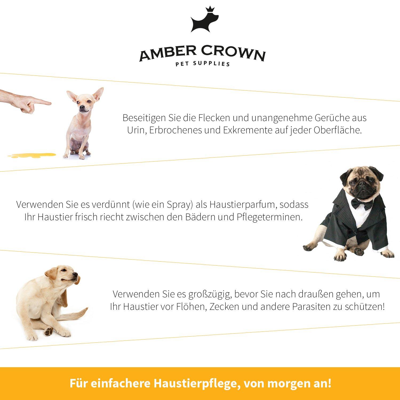 Amber Crown 3 en 1 - Neutralizador de olores concentrado de ...