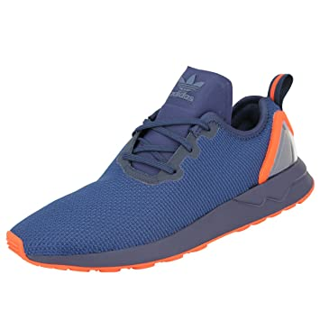 adidas Originals ZX FLUX ADV ASYMETRICAL Blau Orange Herren