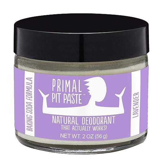 Primal Pit Paste, Deodorant Jar Lavender Natural, 2 Ounce Best Natural Deodorant