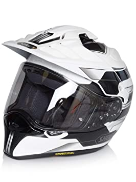 Casco Enduro Mx Shoei Hornet Adv Navigate Tc-6 Blanco (Xl , Blanco)
