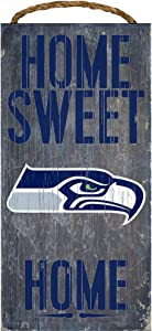Seattle Seahawks Home Sweet Home Wood Sign 12