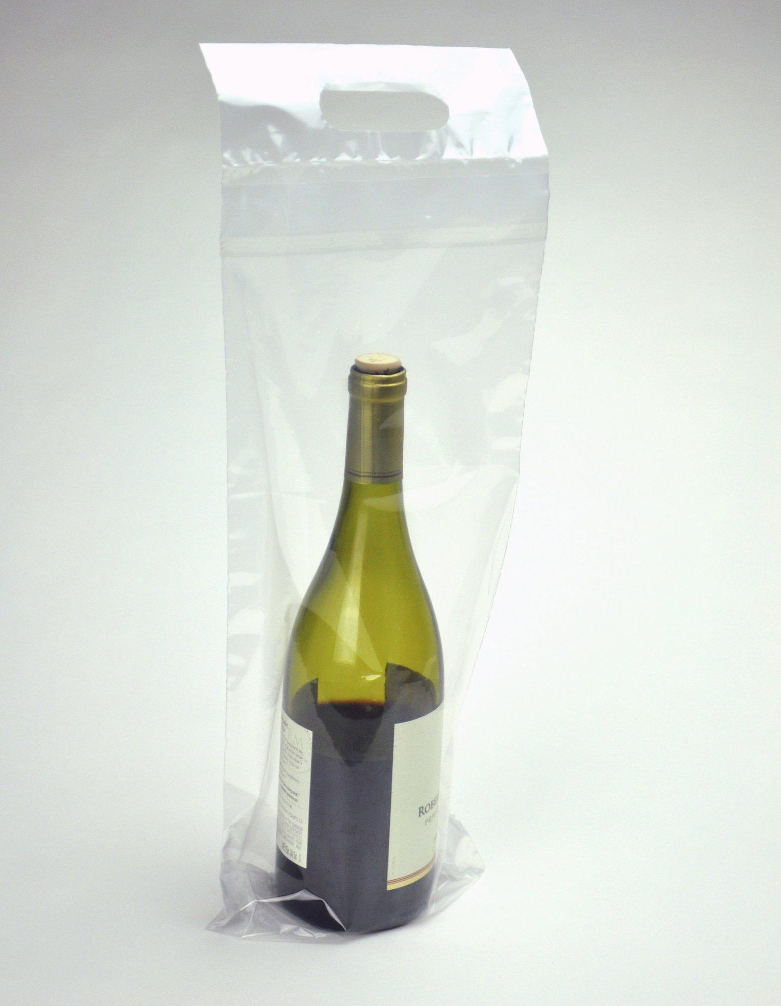 7 X 19 + 3-1/2 BG + 1-1/4 FB Wine To-Go Bag (250 Bags) - Elkay Plastics WBPL719+3 by Elkay Plastics (Image #1)