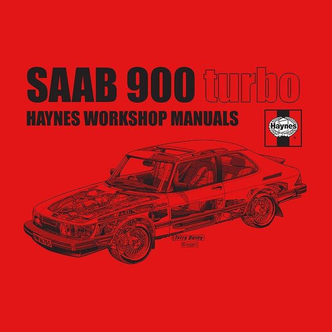 Haynes Workshop Manual 0765 Saab 900 Turbo Black Womens Sweatshirt: Amazon.es: Ropa y accesorios