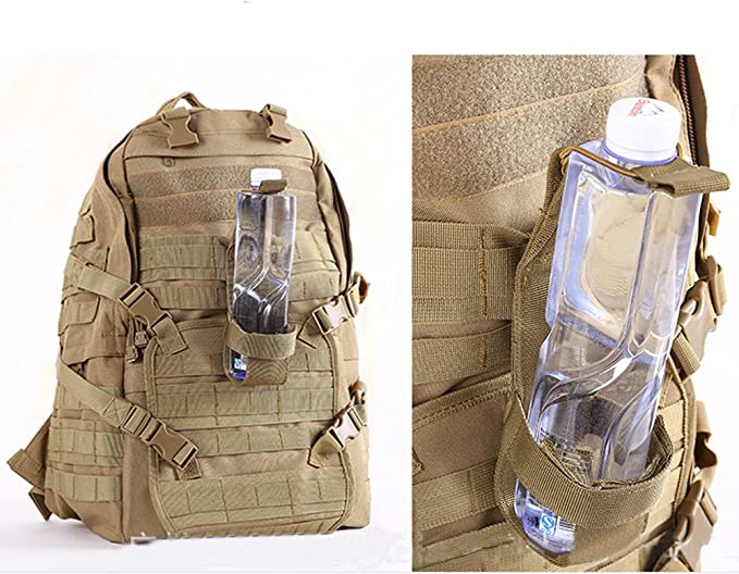 Camping Tactical Molle Wasserflasche Tasche Militär Halter Kettl Gürtel Wan U5B8