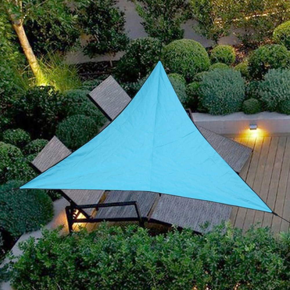 4 * 4 * 4m Leezo Sky Blue Toldo de protecci/ón UV Impermeable para jard/ín de Patio o de Patio