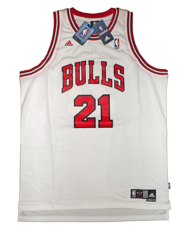 finest selection a2f94 c8cfb Amazon.com: adidas Chicago Bulls Chris Duhon #21 NBA ...