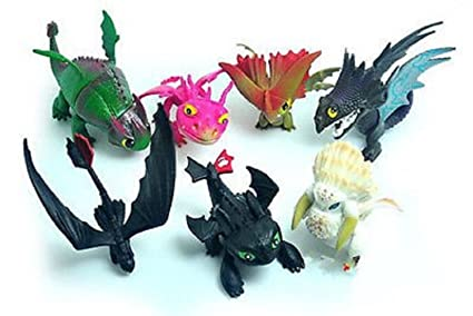 Amazon max fun set of 7 pcs how to train your dragon night fury max fun set of 7 pcs how to train your dragon night fury toothless action figures ccuart Gallery
