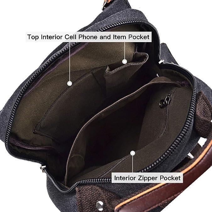 Amazon.com: Mochila unisex ligera con múltiples bolsillos ...