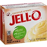 Jell-O Coconut Cream Instant Pudding Mix 3.4 Ounce