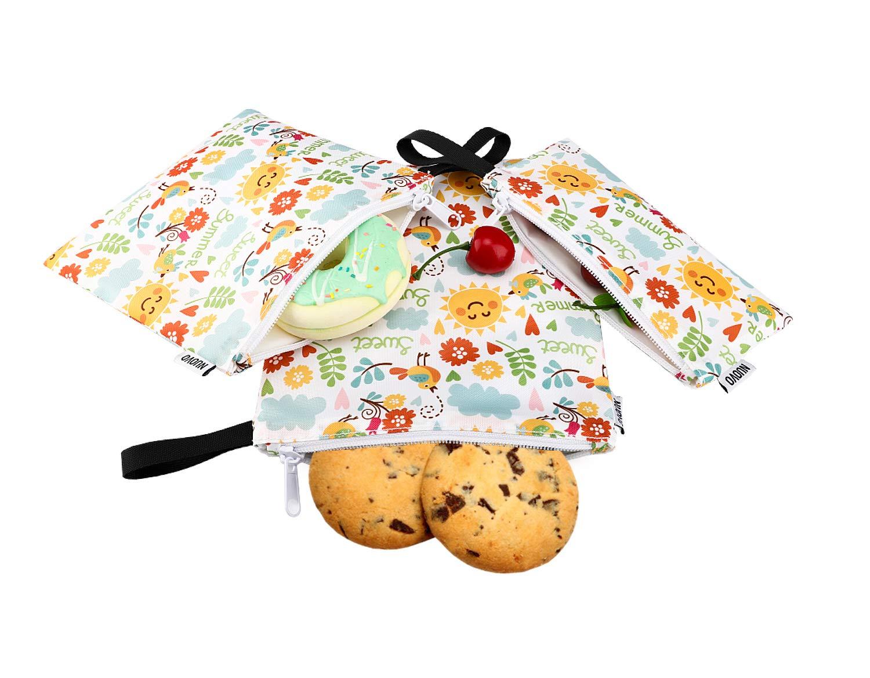 Guilty Gadgets Paquete de 3 bolsas de almacenamiento de Navidad verdes con cremallera bolsa tejida no se rompe organizadores para decoraci/ón de /árboles y luces con asas