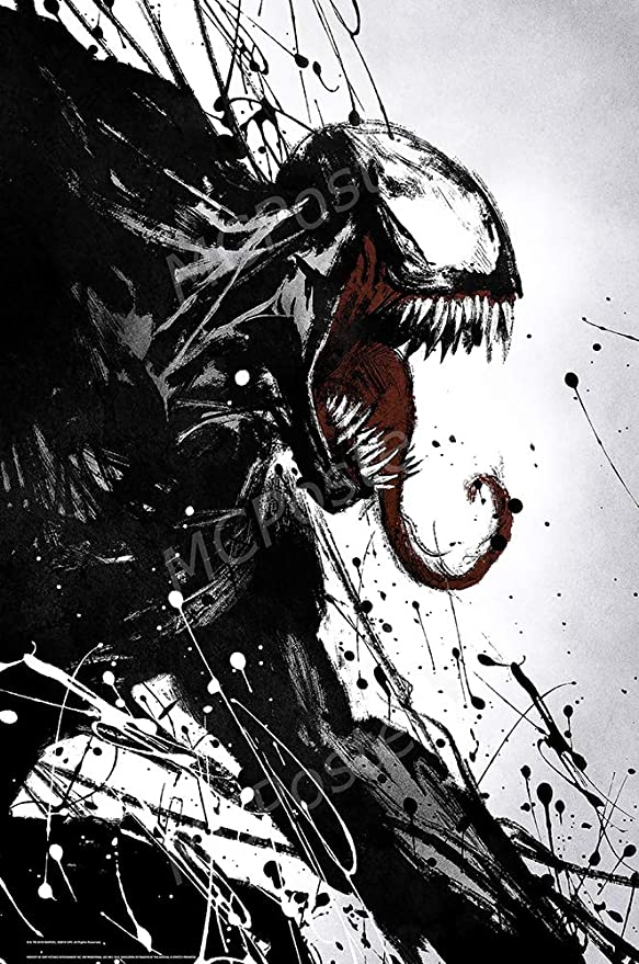 "Venom Comic Movie Marvel 24/"" x 16/"" Large Wall Poster Art Print Gift Decor"