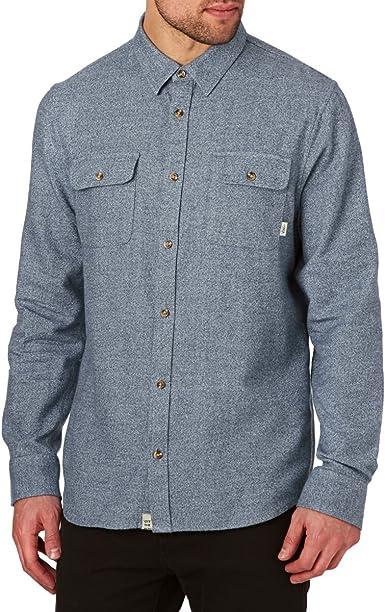 Vans Grayland Camisa, Azul (Dress Blues Lkz), Small para Hombre: Amazon.es: Ropa y accesorios
