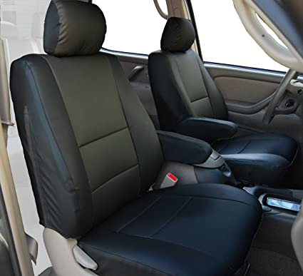 Toyota Tundra Seat Covers >> Amazon Com Iggee 2000 2003 Toyota Tundra Artificial Leather Custom
