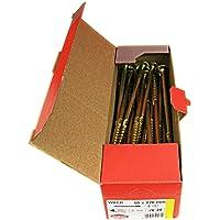Tellerkopschroeven houtbouwschroeven alle maten plaatkop torx schroeven (25 stuks 10x220 mm TX40)
