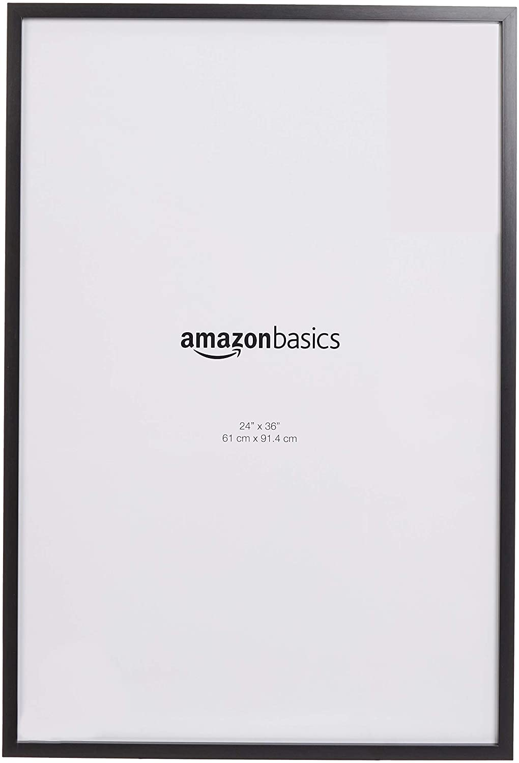 AmazonBasics Poster Photo Picture Frames - 24 x 36 Inches, 2-Pack, Black