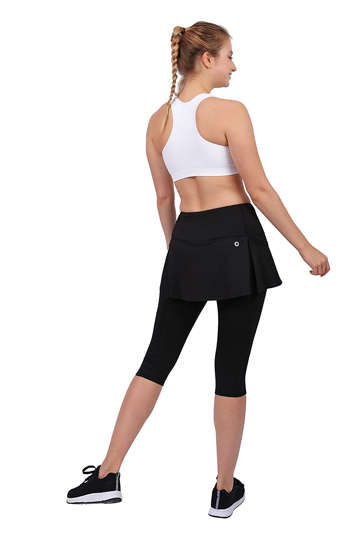 Honofash Falda Pantalón Tenis Mujer Deporte Running Ropa Padel Leggins Deportivas S M L XL Golf(Negro, EU38): Amazon.es: Ropa y accesorios