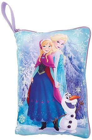 Disney Frozen - Cómodo cojín y baúl Secreto Dos en uno, Color Morado (Worlds Apart 262FRN)