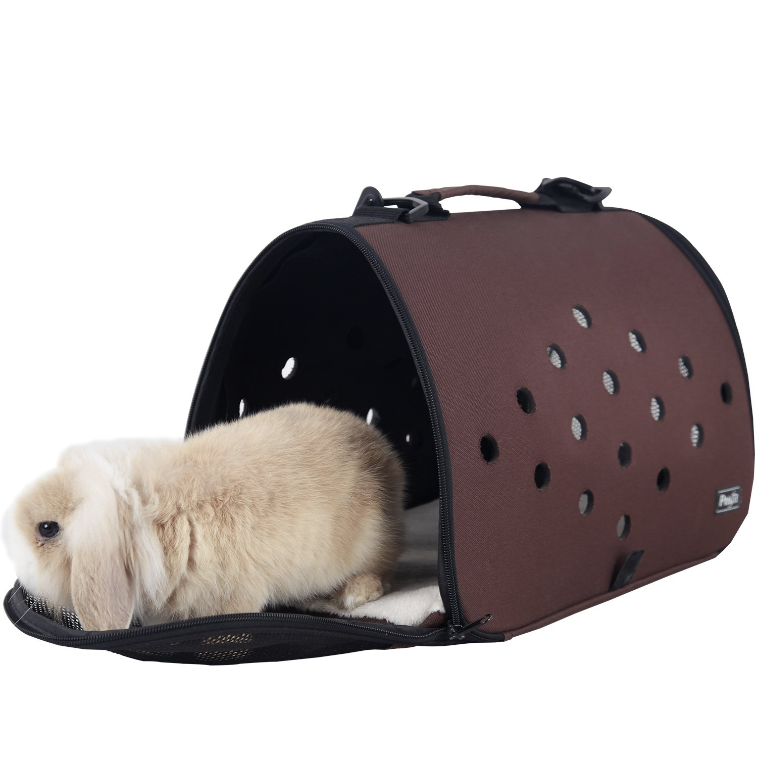 Petsfit 16 X 9 X 9 Inches Pet Carrier EVA, Soft-sided Pet Carrier, Cat Carrier,Ferret Carrier,Bunny Carrier for Small Pet Only