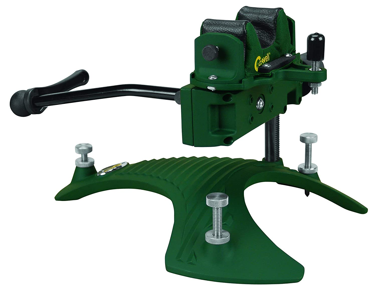 Renewed Caldwell Fire Control Rest Adjustable Ambidextrous Rifle Shooting Rest for Outdoor Range