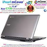 """iPearl mCover Hard Shell Case for 11.6"""" Acer C730"""