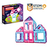 Magformers Inspire Set (30-pieces) Magnetic Building Blocks, Educational Magnetic Tiles Kit , Magnetic Construction STEM Toy