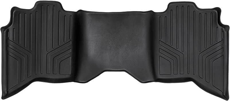 2009-2016 Dodge Ram Quad Cab-2 Row Black Husky Liners WeatherBeater Floor Mats