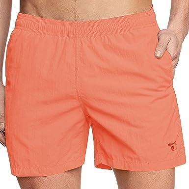 a8531dc1b375 Bañador Gant para hombre, de natación, Coral, XXL: Amazon.es ...