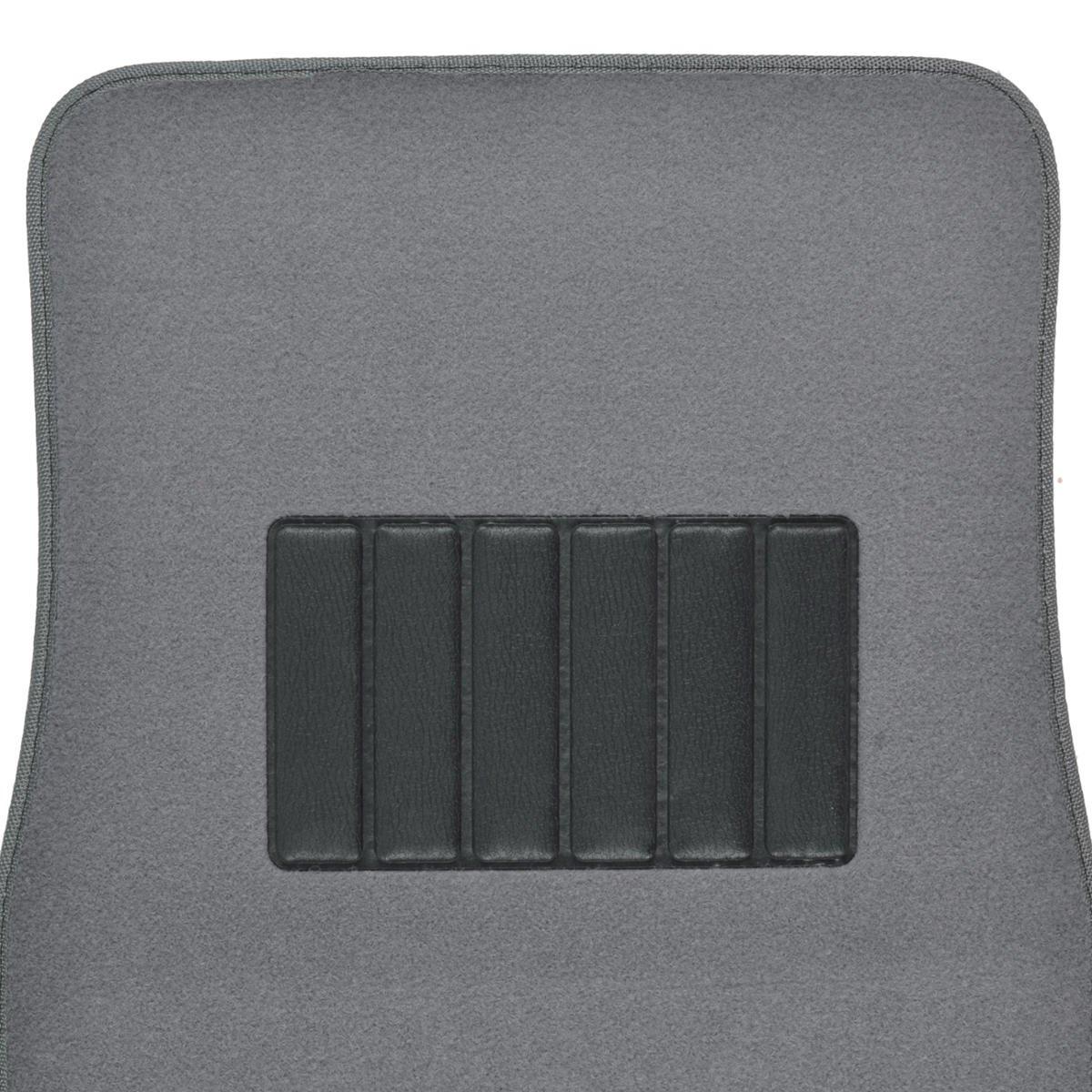 BDK Classic Carpet Floor Mats for Car /& Auto Universal Fit -Front /& Rear with  Heelpad - MT100CC Charcoal