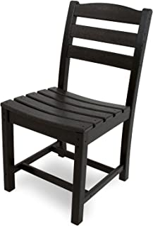 product image for POLYWOOD TD100BL La Casa Café Dining Side Chair, Black
