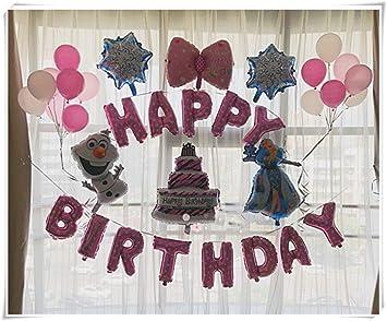 Frozen decoración de fiesta de cumpleaños, paquete de ...