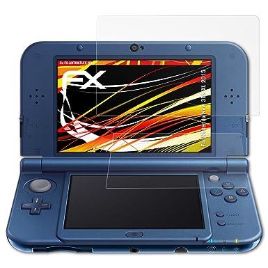 atFoliX Protector Película para Nintendo New 3DS XL 2015 ...