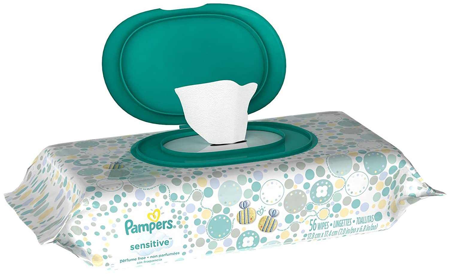 Amazon.com: Pampers Sensitive Baby Wipes, 144 Wipes: Health & Personal Care