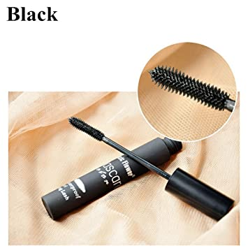 hermosotodo Womens Eye Beauty 5 Color Cosmetic Tool Make Up Curling Eyelash Gradient Colorful Mascara