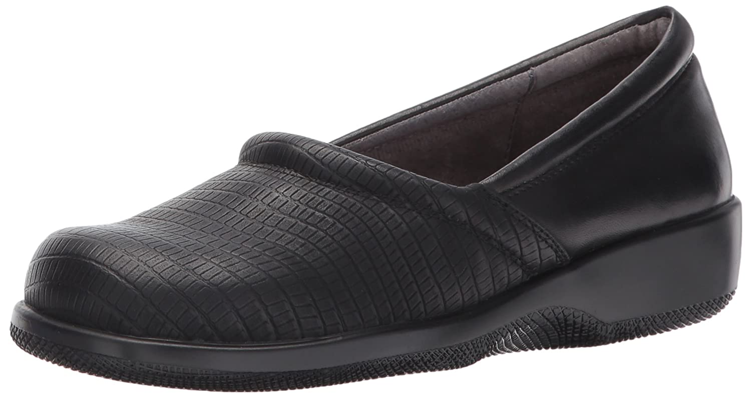 SoftWalk Women's Adora Flat B072LX3JZ9 6 2W US|Black