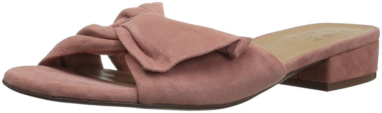 Naturalizer Women's Mila Slide Sandal B073X1Y7KQ 12 W US|Pink Suede
