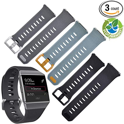 Amazon.com : Tivfit for Fitbit Ionic Bands for Women Men ...