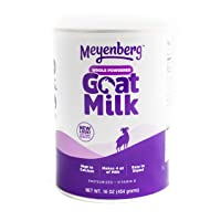 Meyenberg Canned Powdered Whole Goat Milk, Gluten Free, Soy Free, 16 oz