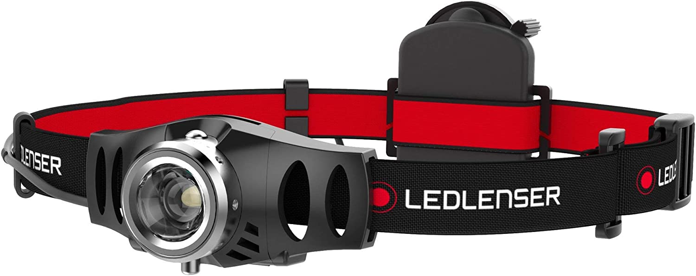 Led Lenser H3.2 - Linterna (Linterna con cinta para cabeza, Negro, Rojo, Metal, De plástico, IPX4, 1 lámpara(s), LED)