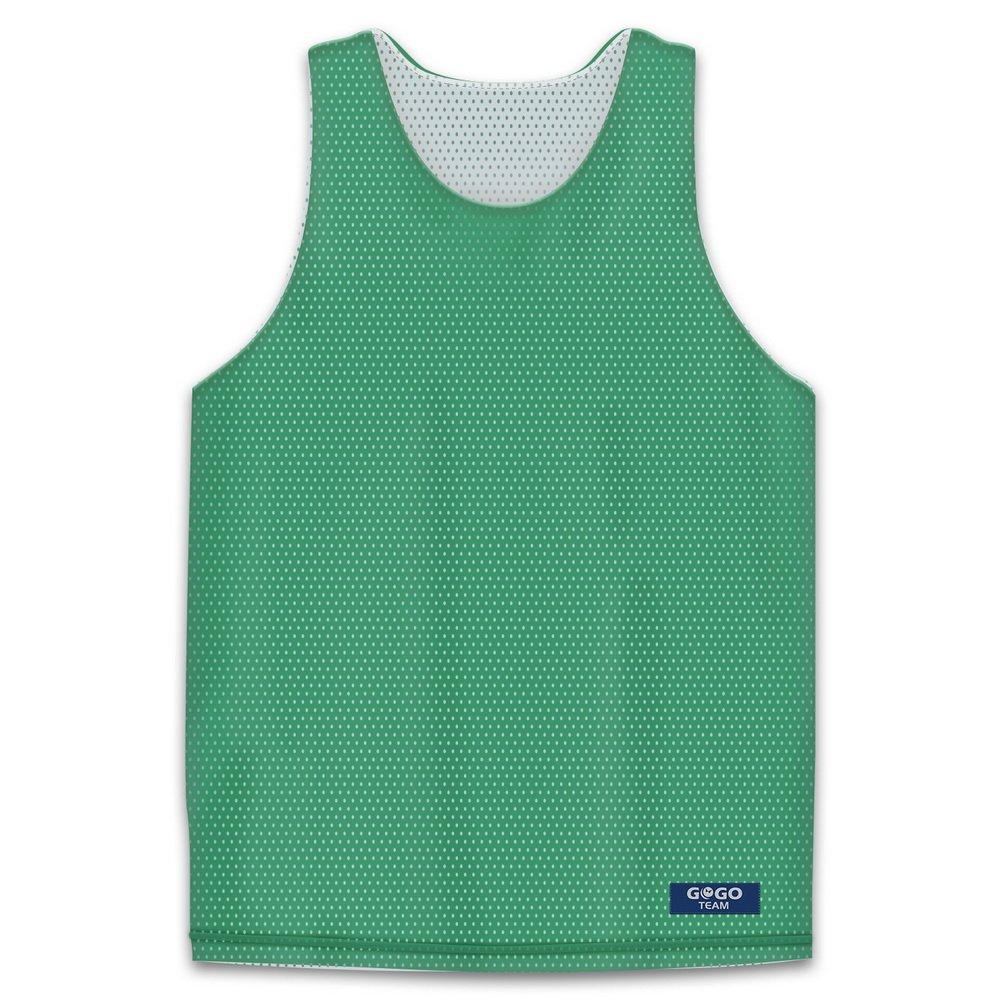 GOGO TEAM Big Boys' Tank Top, Reversible Basketball Jerseys, YS-YL GGTV-AI77702