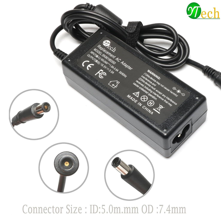 Amazon YTech 65W AC Power Adapter Battery Charger for HP Probook 430 645 650 655 G1 G2,HP Pavilion G32 G42 G50 G60 G62 G70 G71 G72 PA 1650 02HN 2540p