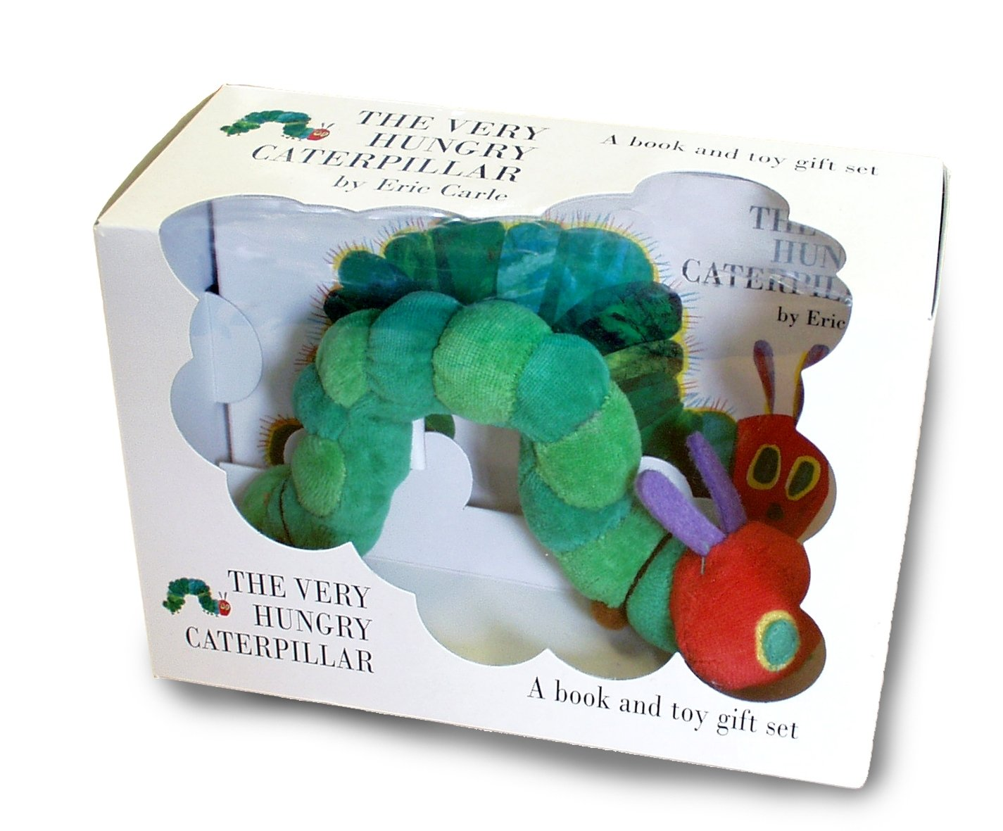 The Very Hungry Caterpillar: Book and Toy Gift Set in a box for toddlers