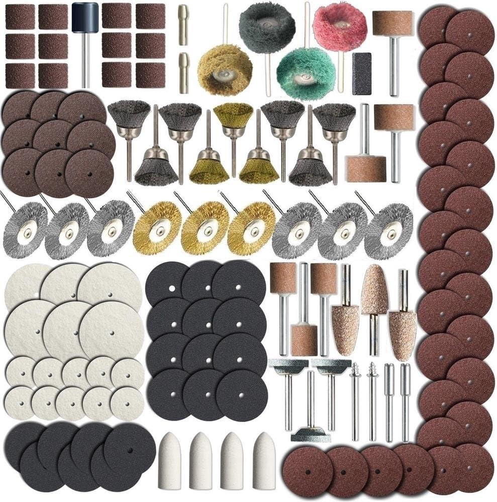 Fits Sanding Grinding 337 Piece Rotary Tool Accessory Set Polishing