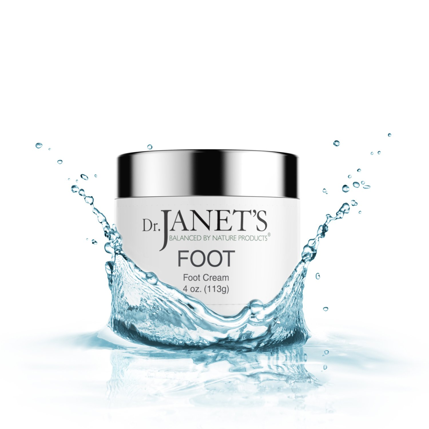 f4dc1b148d9 Dr. Janet's Balanced By Nature Products Foot Cream - With Organic Shea  Butter and Peppermint