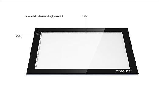 Amazon.com: dbmier LED fotografía Artcraft Tracing Light Pad ...