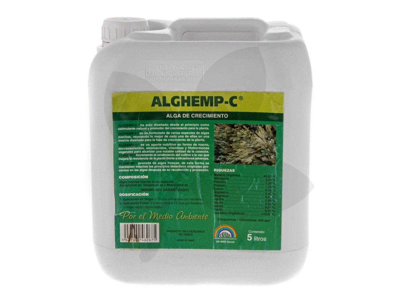 TRABE AlgHemp C (crecimiento) 5L - Fertilizante Líquido: Amazon.es: Jardín