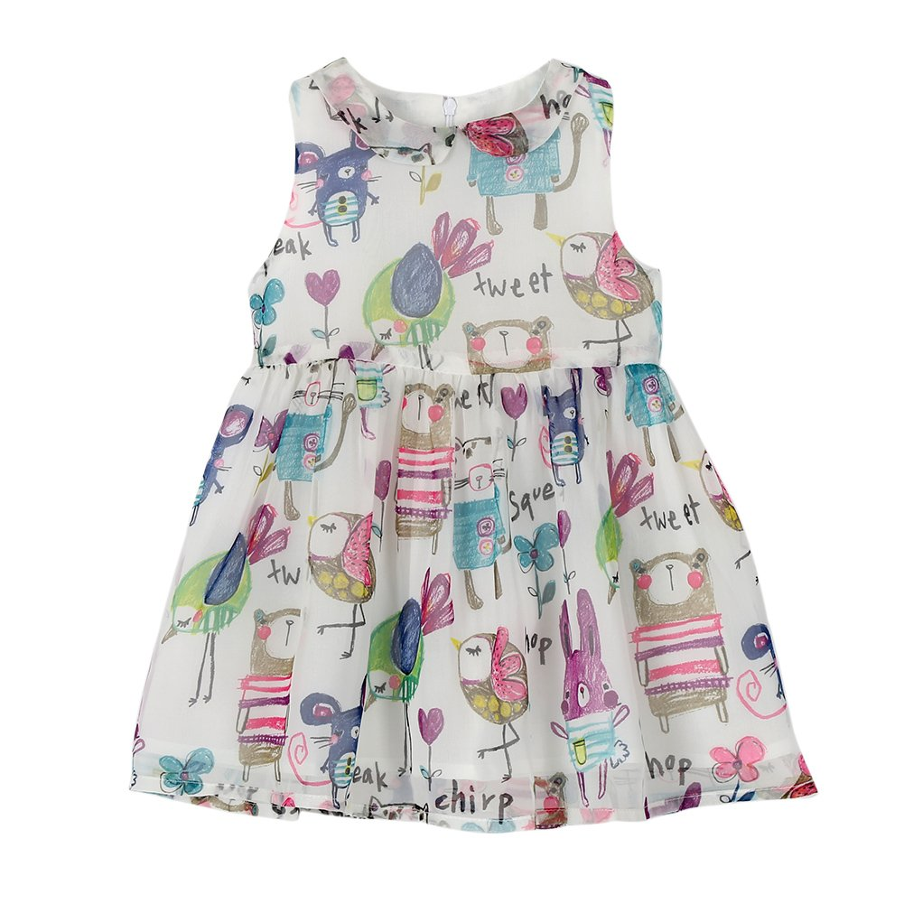 Norbi Baby Girls Hand-painted Princess Dress